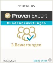 Erfahrungen & Bewertungen zu HEREDITAS